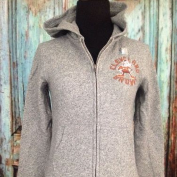 a8e513139540 NFL Cleveland Browns Gray Hoodie Youth Sz M